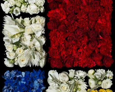 Mondrain's Flowers