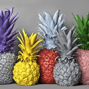 No Artificial Colours - Pineapples