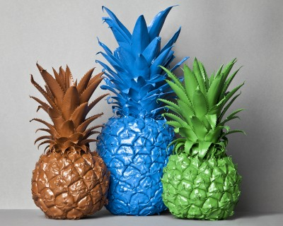 No artificial Pineapples (nature)