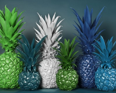 No artificial colours- pineapples (BlueLagoon)