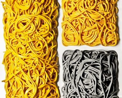 geometric abstraction spaghetti 4