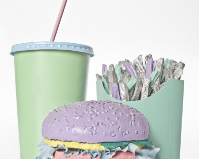 no artificial colours fast food (pastel)